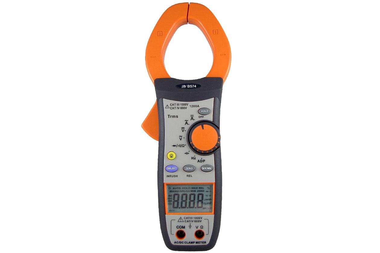 BS74 1200A真有效值交/直流钳表
