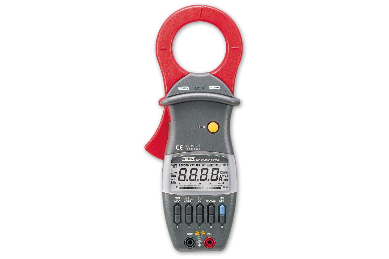 F135专业钳形电流表