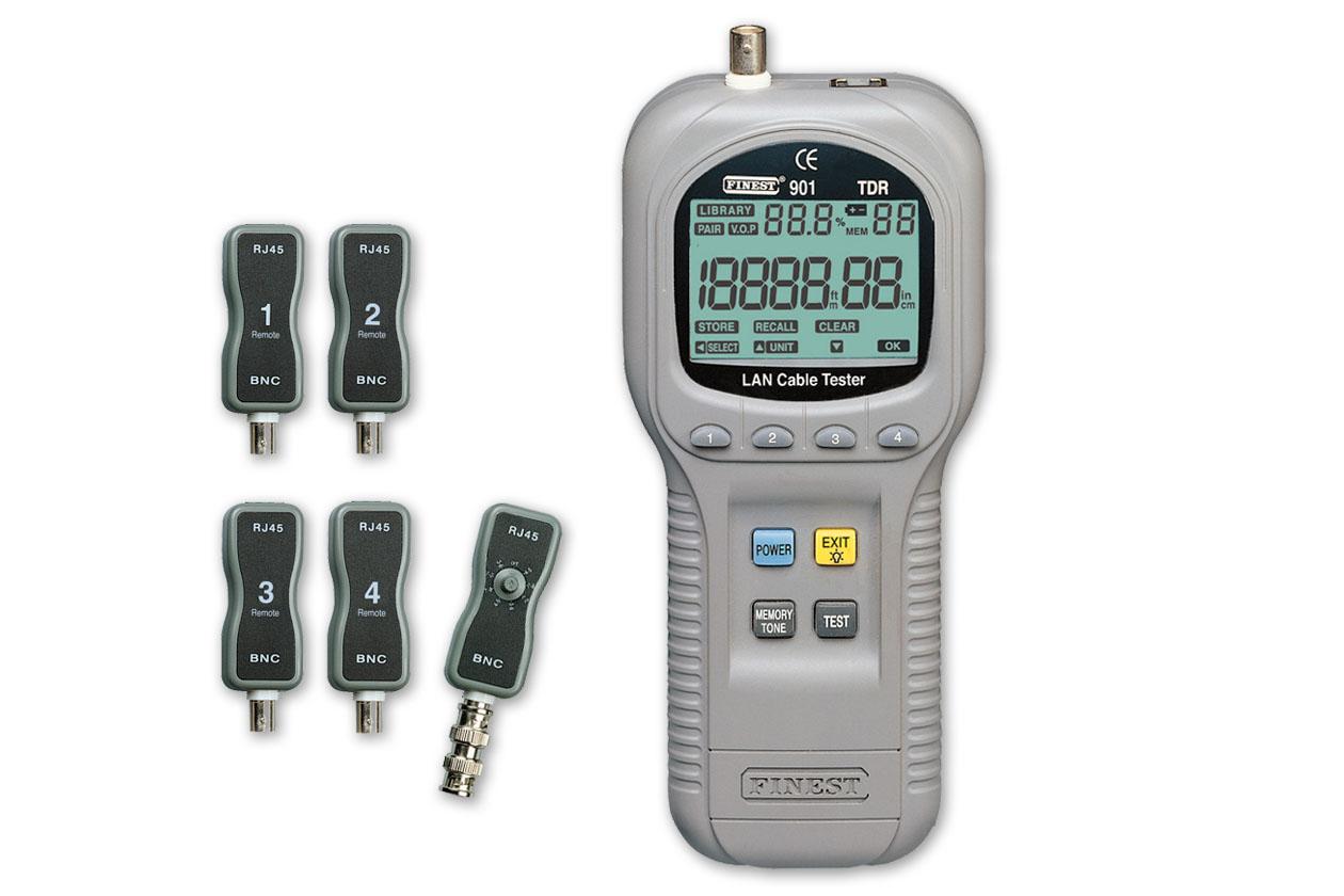 F901高精度TDR网络诊断|电缆测试仪