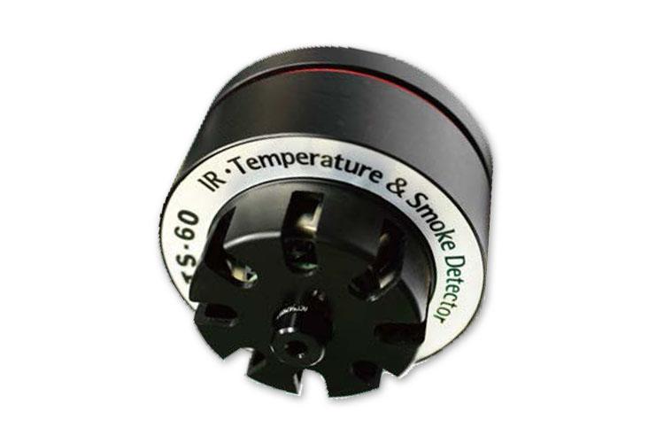 TS60二合一红外测温烟雾探测器